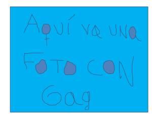 Foto con Gag