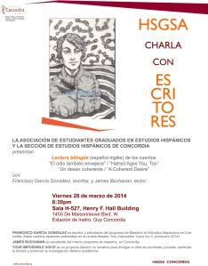 HSGSA Charla Escritores_poster_FGG_28fmar2014
